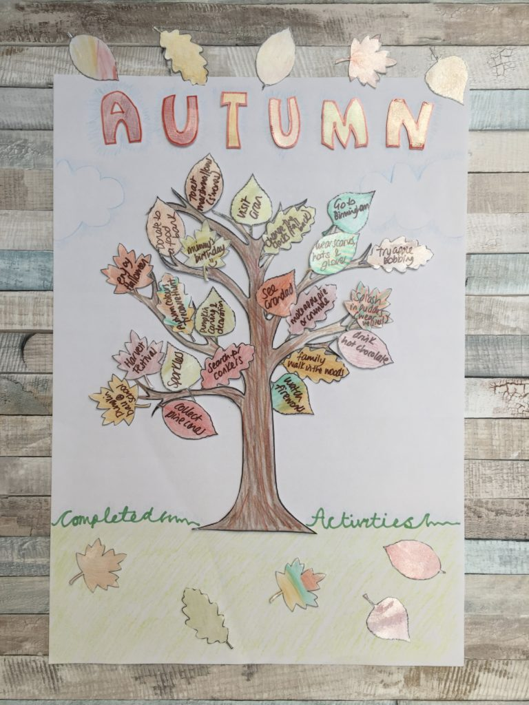 Complete Autumn Poster