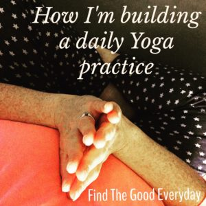 building a daily yoga practice