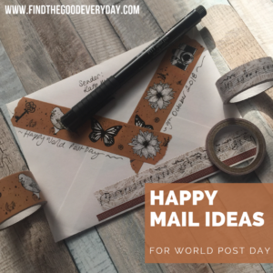 Happy Mail Ideas for World Post Day
