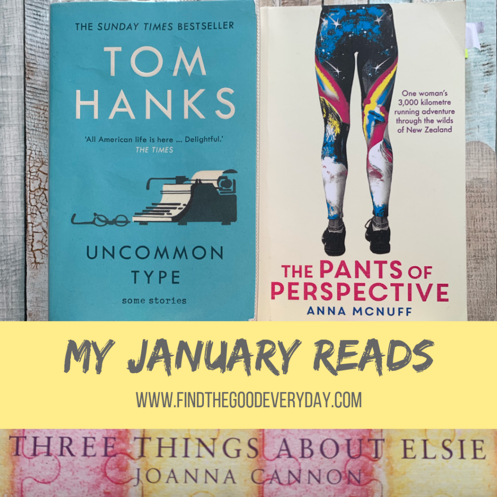 My January Reads - Reading Rituals