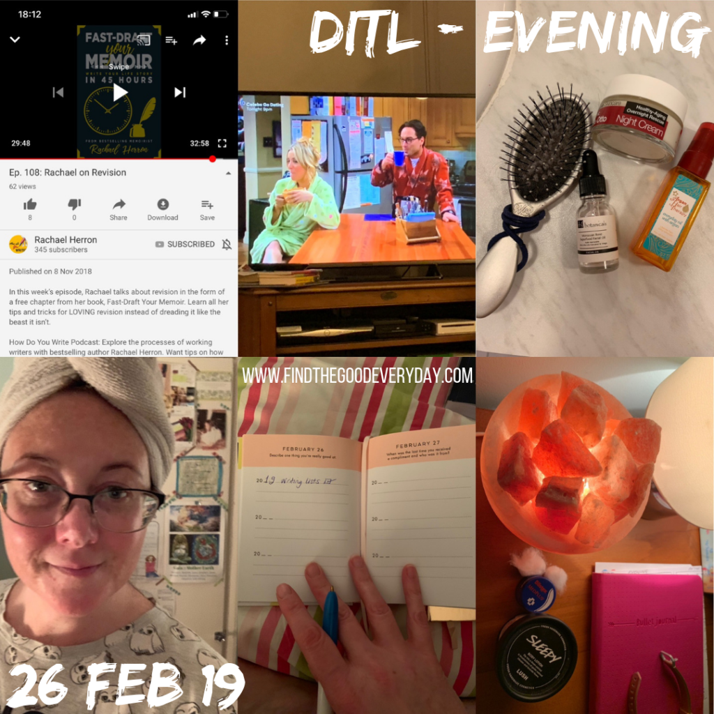 Day in the Life - 26 Feb 2019 - Evening