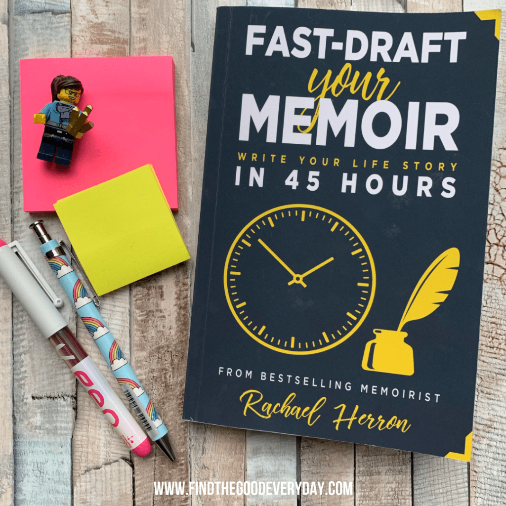 Fast-Draft Your Memoir (Write Your Life Story in 45 Hours) by Rachael Herron - Reading Rituals