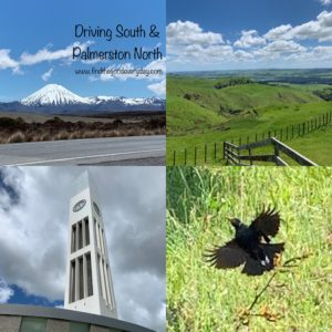 New Zealand Trip Highlights - Driving South & Palmerston North