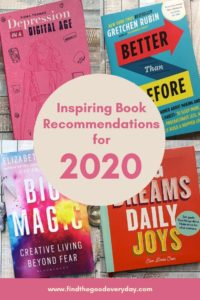 Inspiring Book Recommendations for 2020 - pin