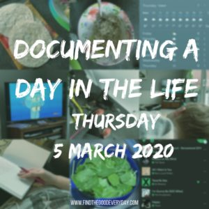 Documenting a Day in the Life - Thursday 5th March- title mosaic