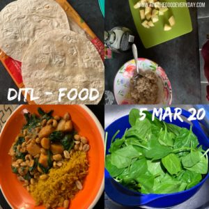 Documenting a Day in the Life - 5th March 2020 - food pictures