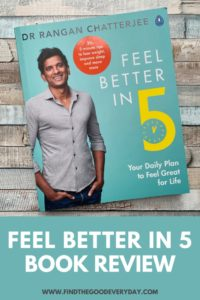 Feel Better in 5 Book Review - showing book cover