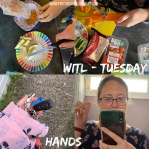 Week in the Life - Tuesday - a collection of photos featuring Hands