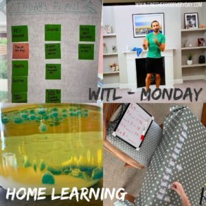 Week in the Life: Monday 11th May - Home Learning photos